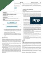Boletín Oficial de la Nación. Creación del cargo de representante del Estado Argentino para TELESUR