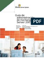 Exchange Server 2003 Administration Guide ES V3