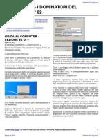 Guida al Computer - Lezione 62 - Il sistema Operativo - Il Desktop Parte 4