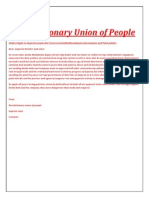 revolutionary union of people
