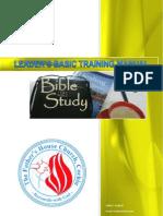 Leader's Basic Training Manual
