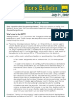 Operations Bulletin #3593 July 312012