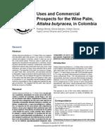 Bernal Et Al 2010-Uses Commercial Prospects Attalea Butyracea