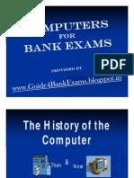 Computers for Bank Exams - Guide4BankExams