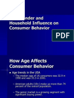 Age Gender and Behaviour