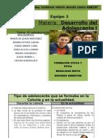 Proyecto CUADRO COMPARATIVO Adolescente Durante La Colonia y Actual