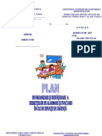 Plan de Alarmare Si Evacuare Scoli
