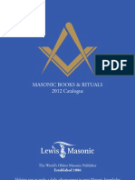 Lewis Masonic 2012 Catalogue