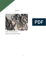 Abandoned Bike Summary