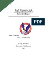 Scientific Paper Anastasia Dark Chocolate and MCI