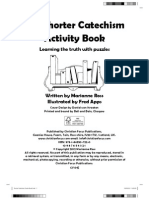 The Shorter Catechism Activity Book - Sample