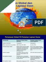 X. Pemanasan Global Dan Menipisnya Lapisan Ozon