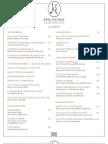 Maison Kayser menu