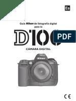CATALOGO CAMARA NIKON D100 ESPAÑOL
