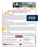 CA Cleantech Trade Mission Promo Flyer - FINAL