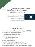 Royalti Pt.nnt Icw 27mei2011