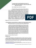 Aspectos Geotécnicos Fundamentales de las Formaciones del Delta del Río Paraná y del Estuario del Río de la Plata