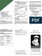 Bulletin - 20120812