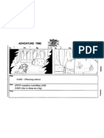 Adventure Time - Storyboard Test