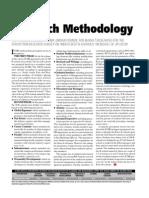Ranking Methology