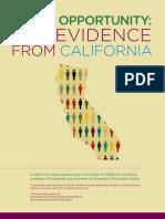 Eo the Evidence California