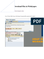 Webdynpro Abap for File Upload