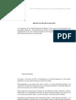 Preocupación por las plabras de la Presidenta Cristina Fernández de Kirchner