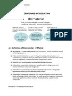 BIOMATERIALS 1