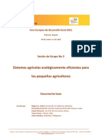 Sistemas Agroecologicos Eficientes Para Campesinos