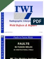 53569529 TWI Radio Graphic Interpretation Weld Defects Repair[1]