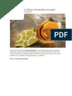 Ideas para hacer flores artesanales con papel.docx