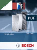Catálogo Bosch - Filtros de Cabine 2011 - 2012