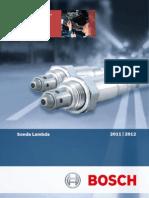 Catálogo Bosch - Sonda Lambda 2011 - 2012
