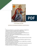 Cartas Paulinas Em Latim