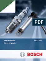 Catálogo Bosch - Velas e Cabos de Ignição 2012 - 2013