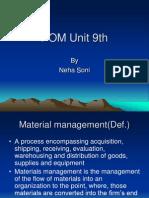 POM Unit 9