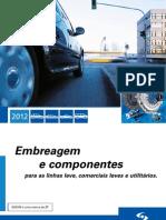 Catálogo Sachs - Embreagens e Componentes 2012