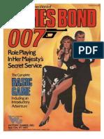 James Bond RPG