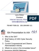 2009 09 24 Larry Clinton ISA AIA Public Policy Webinar