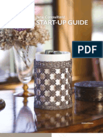 New Scentsy Consultant Start Up Guide 2012