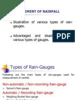 3-Measurement of Rainfall