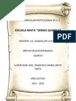 Plan Curricular Institucional.nexo 2