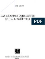 Leroy Maurice - Las Grandes Corrientes de La Linguistica