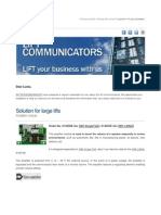 2n Lift e Newsletter January 2011