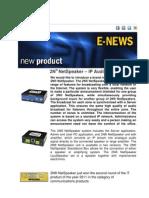 2n Netspeaker E-newsletter June 2011