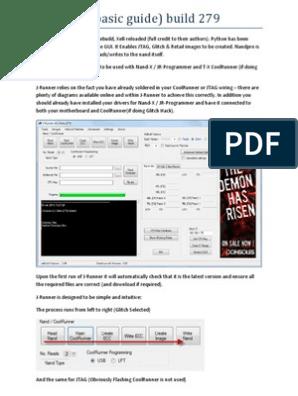 J Runner UserGuide | Flash Memory | Booting