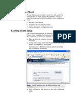 Ecw Client Install
