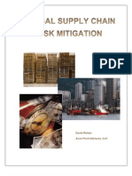 Global Supply Chain Risk Mitigation - Article by Dave Wolski