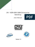 2NR BRI Enterprise - User Manual