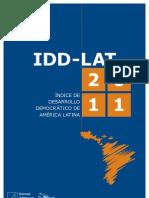Indice Desarrollo Democratico 2011 - Konrad Adenauer y Polilat